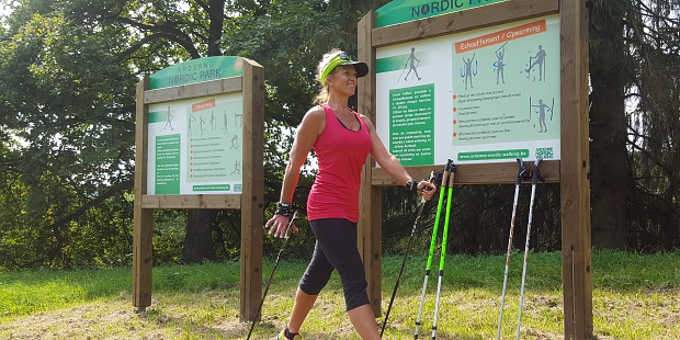 Nordic Walking Park Sainte-Ode